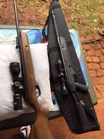 BSA Air Rifle 1200fps with scope and bag