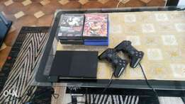 Sony ps2 with 10games ,2 controls R1000onco
