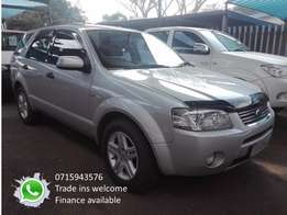 Ford territory 4.0 v6 awd auto 4sp gearbox