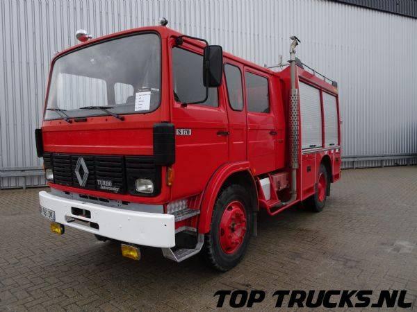 Renault Camiva S170 4x2, feuerwehr - fire brigade - brandweer -Du... - 1988