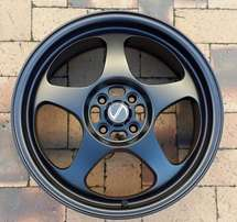 Matte Black Spoon Rims 17inch