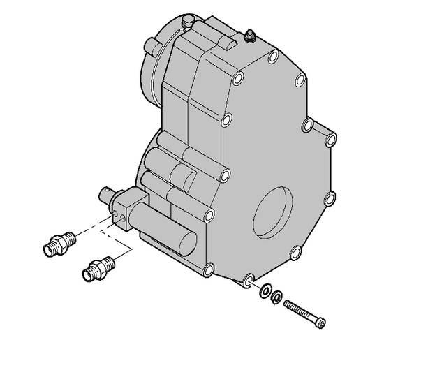 Dieci New reducer for   PEGASUS 45.19 material handling equipment - 2019