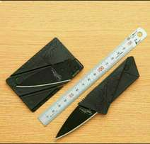 Sharp Business Card Size Foldable Wallet Or Pocket Knife