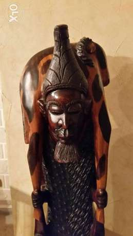 Very Old statue hand made decore 50 k.g