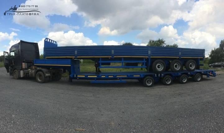 slon b3 40 001 flatbed semi - 2019