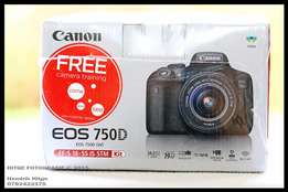 Canon EOS 750D Bundle - BRAND NEW, SEALED