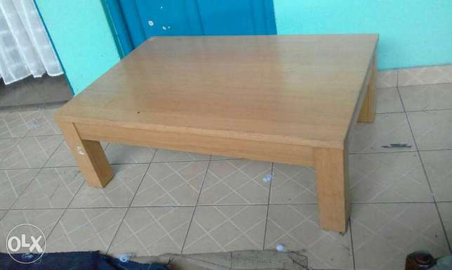 Solid wood matching tv cabinet, coffee table, dinning tables Nairobi CBD - image 2