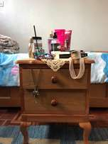 Wooden Bedside Table *Good Condition*
