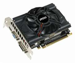 MSI GTX 650 Graphic card for sale