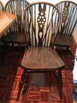 6 Windsor Dining Chairs