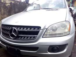 Silver ML 350 4matic