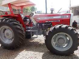 MF 385, 4WD,free plough,high PTO power.