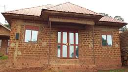 2bedrooms house for sale in ndejje plot 30 by 30ft at 15 millions