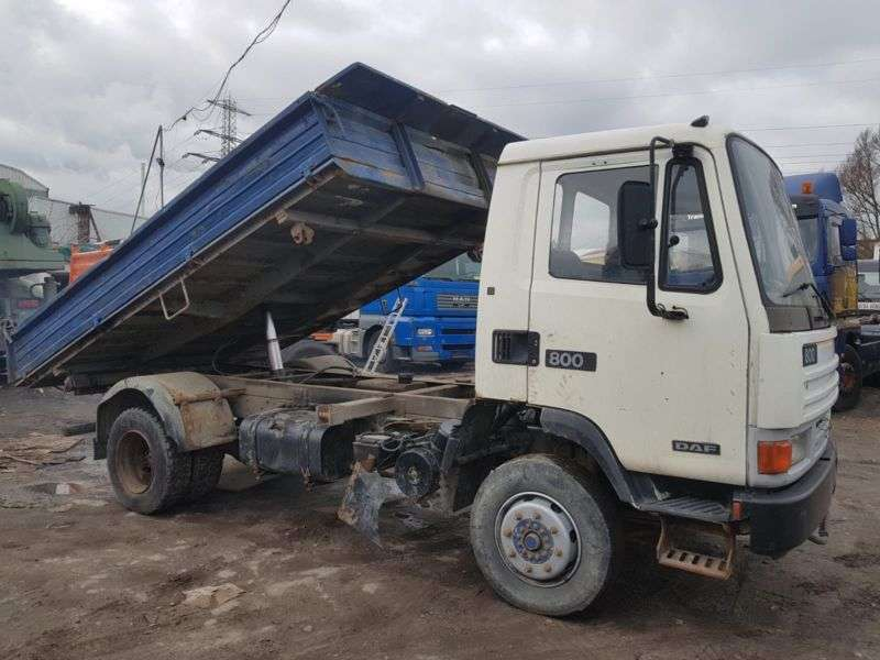 DAF 800 .150.meiller 3 Sides Tipper.manual.full Spri - 1990