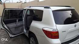foreign used toyota highlander 2009 leather interior design for sale