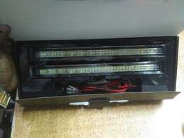 Toyota Mark X Bumper LED Day Running Time Lights