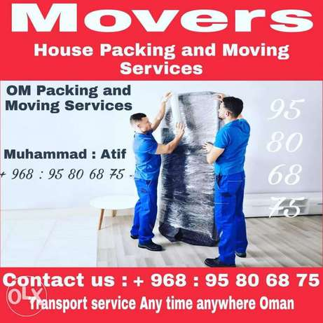 Oman Movers Packers Transport