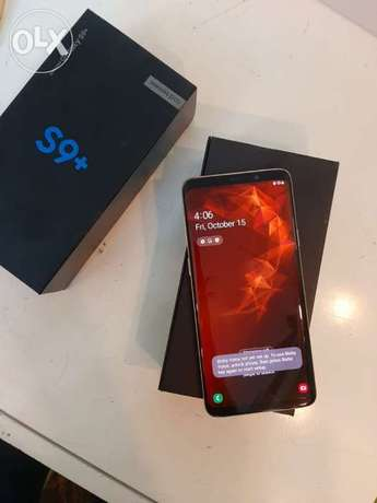 Samsung S9 plus with box and all accessories original with warranty