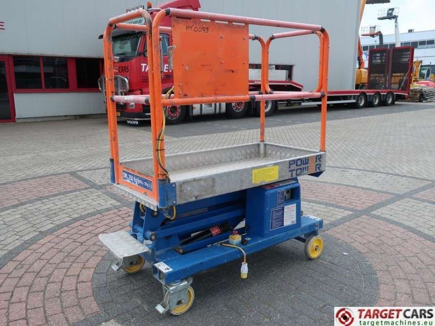 Power Towers  Power Tower Electric Work Lift 510cm - 2012