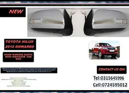 Toyota Hilux New Door Mirror Electric Chrome with with indicator R895