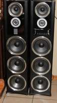 Dixon Speakers System with integrated Amp, Radio, USB, memory card