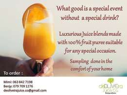 luxurious Juice Blends for your special Occation