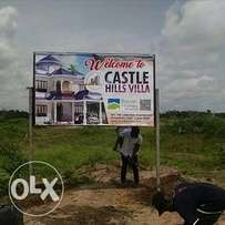Buy a plot in a private owned estate land. Buy and be at peace.