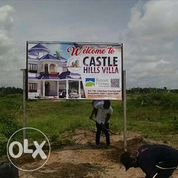 Buy a plot in a private owned estate land. Buy and be at peace. Ibeju - image 1