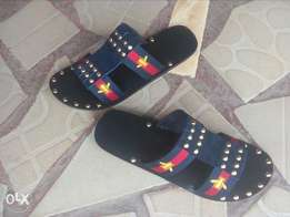 Gucci strips belts slippers 39-47