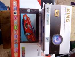 Car DVD player with a reverse camera