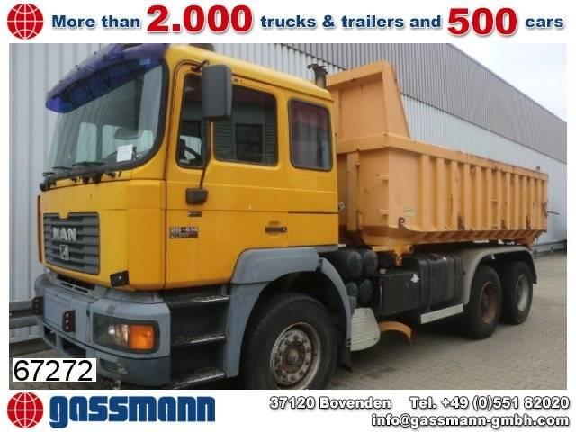 MAN t40 26.414 6x4 standheizung/autom./klima/efh. - 1999