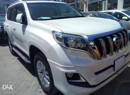 Toyota Prado new shape 2015 fully loaded