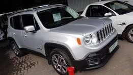 **2015 Jeep Renegade 1.4Tjet (Turbo) Limited** Full of Features*9500km
