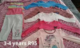 Girl's clothes 2-4 years
