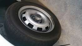 Opel corsa utility rims and tyres