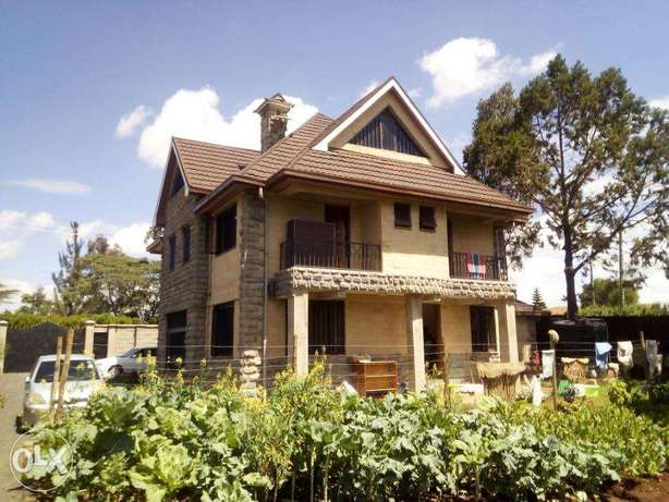 Elegant well spaced 4 Bedroom all ensuit villa with SQ and Attic floor Dagoretti - image 4