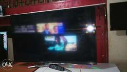 Its a 52inch Samsung Smart digital and satellite enabled 3D