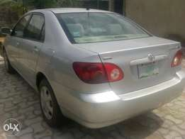 Neatly used corolla for sale