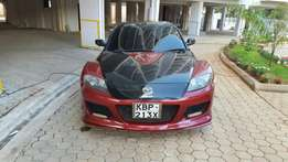 Hot Mazda sport car 4 door on sale with low millage