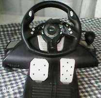 Brooklyn booster 9000 PS2 / PC steering controller.