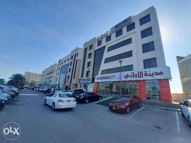 *New 1 & 2BHK Commercial Offices in Al Mawaleh S.   REF 852GH   شقق غر