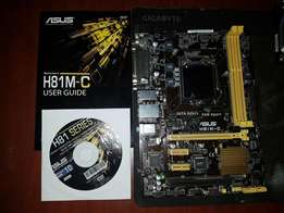 Asus H81m c motherboards