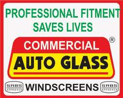 Vehicle glasses - we supply and Sabs aproved fitment centre