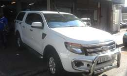 Ford ranger 2014 model double cap white in color 98000km R285000