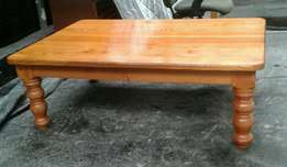 Large oregon pine coffee table