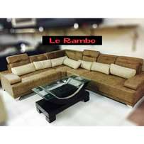 Brown Velvet Sofa Set Couches 980,000/- $285 Book Yours Now
