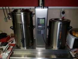 20l stainless steel double layered urns for sale
