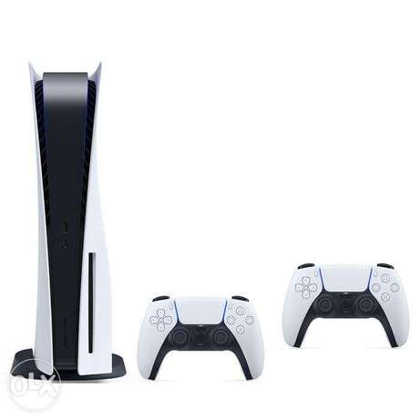Sony PS5 Console With Two Joysticks