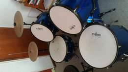 drum kit 9 peice set