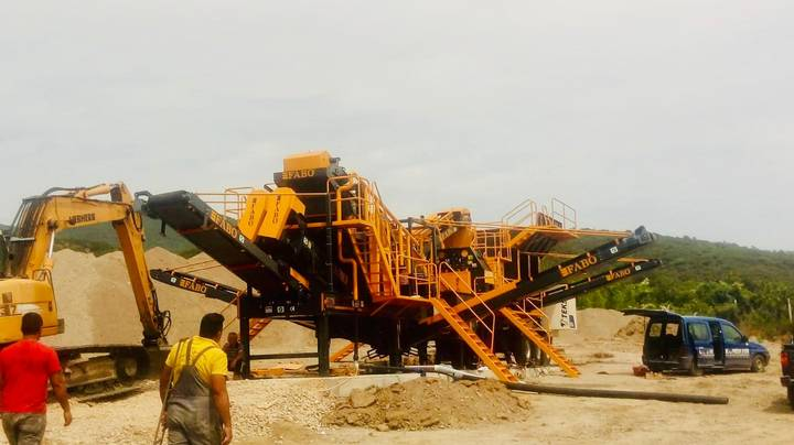 Fabo FULLSTAR-60 MOBILE CRUSHING SCREENING & WASHING PLANT - 2019
